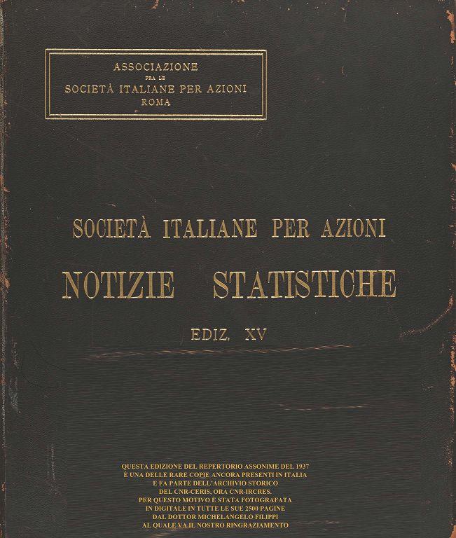 0370d31969 Società italiane per azioni. Notizie statistiche | Byterfly