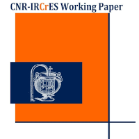 Working Paper IRCrES-CNR