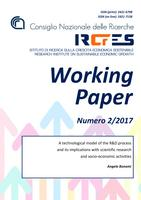 A technological model of the R&D process and its implications with scientific research and socio-economic activities