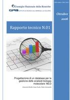 Progettazione di un database per la gestione delle analisi di biologia molecolare: MLO.(Planning of a database for the management of the analyses of molecular Biology: MLO)