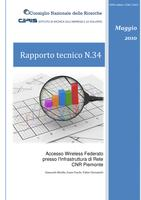 Accesso Wireless Federato presso l'Infrastruttura di Rete CNR Piemonte (Federated Wireless Network Authentication at Piedmont CNR network Infrastructure)