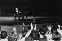 Il pianista Michel Petrucciani all'Auditorium Giovanni Agnelli Lingotto